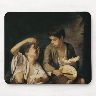 Two Children Eating a Melon and Grapes, 1645-46 Mouse Pad