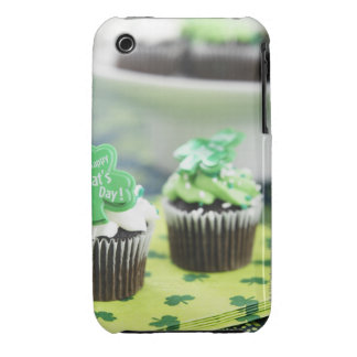 Two chocolate cupcake for St. Patrick's Day iPhone 3 Cover
