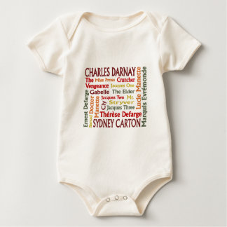 Two Cities Characters Baby Bodysuit