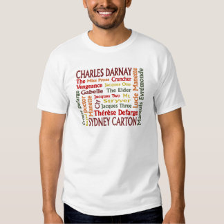 Two Cities Characters T Shirt