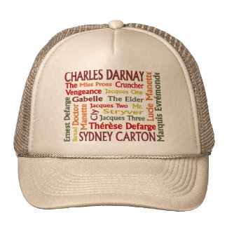 Two Cities Characters Trucker Hat