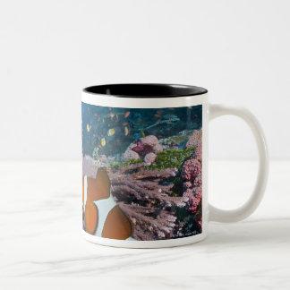 Two Clownfish Two-Tone Coffee Mug