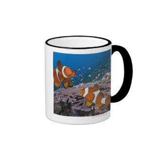 Two Clownfish Ringer Coffee Mug