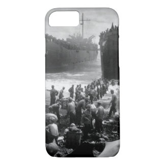 Two Coast Guard-manned LST's open_War Image iPhone 8/7 Case
