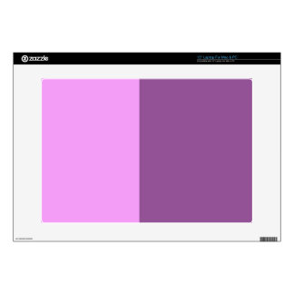 Two Color Block Art Decals For Laptops