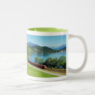 Two-colored cup green large Alpsee Immenstadt