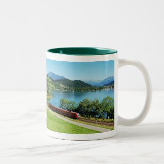 Two-colored cup hunter-green large Alpsee