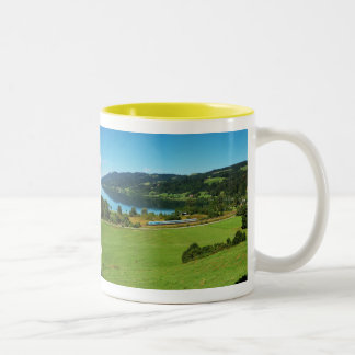 Two-colored cup yellow large Alpsee