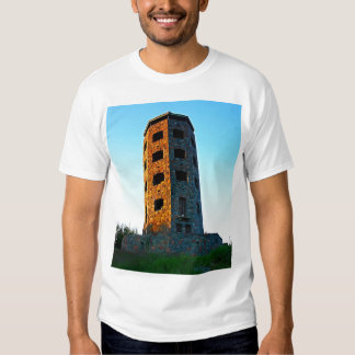 Two Colored Enger Tower Tee Shirt