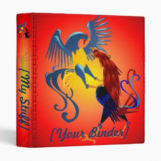 Two Colorful Fighting Roosters binder_2_front.v4.p Binder