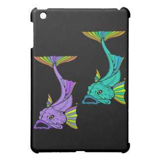 Two Colorful Fish Cover For The iPad Mini