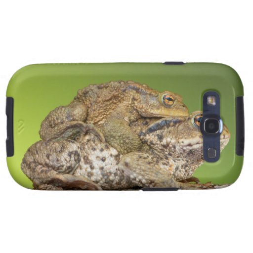Two Common Toads Bufo Bufo Together Galaxy SIII Case