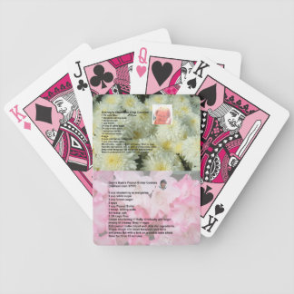Two Cookie Recipes Playing Cards