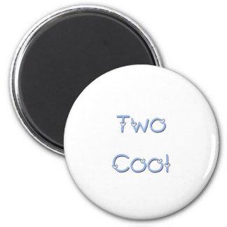 Two Cool Blue Fridge Magnets