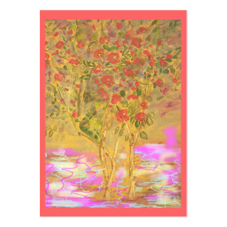 Two Cool Camellias Large Business Card