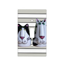 Two Cool Cats Light Switch Cover