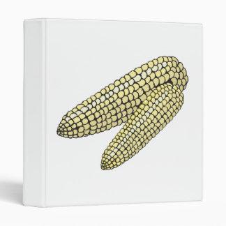 two corn on the cob 3 ring binder