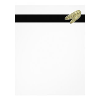 two corn on the cob letterhead