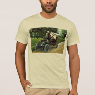 Two Couples Motoring 1910 Vintage T-Shirt