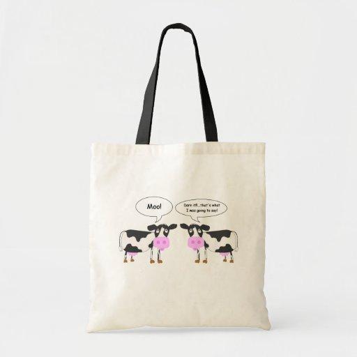 Two Cows Joke Bag