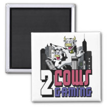 Two Cows Magnet