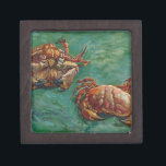 "Two Crabs by Vincent van Gogh Gift Box<br><div class=""desc"">&#39;Post-Impressionism&#39; beautiful images from legendary artists</div>"