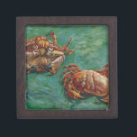 """Two Crabs by Vincent van Gogh Gift Box<br><div class=""""desc"""">&#39;Post-Impressionism&#39; beautiful images from legendary artists</div>"""