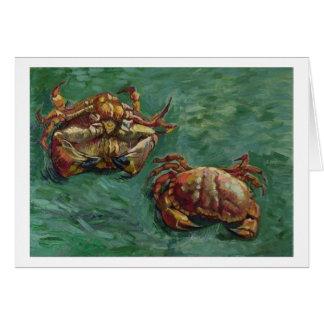 Two Crabs (F606) Van Gogh Fine Art Card