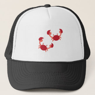 Two Crabs Trucker Hat