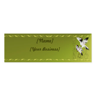 Two Cranes In Bamboo profilecard_skinny_horizon... Business Card