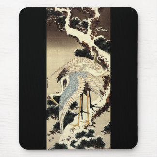 Two Cranes Mouse Pad