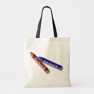 Two Crayons Budget Tote Bag