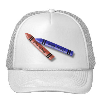 Two Crayons Trucker Hat