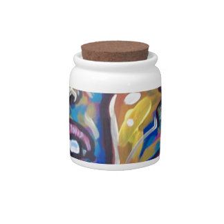 two crazy guys candy jars