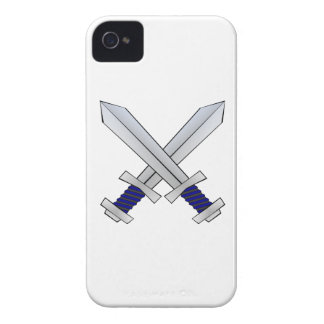 Two Crossed Swords Case-Mate iPhone 4 Case