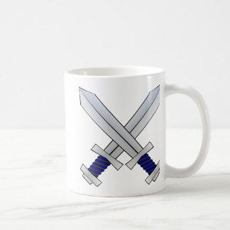 Two Crossed Swords Coffee Mug