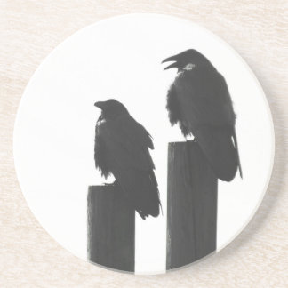 Two Crows Drink Coasters