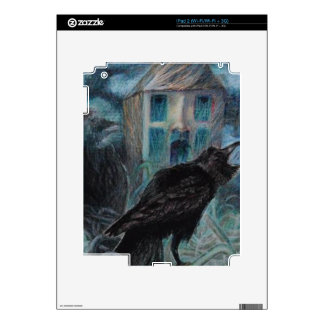 Two Crows Decals For The iPad 2