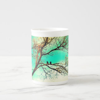 Two Crows in a Tree: Tea Time Tea Cup