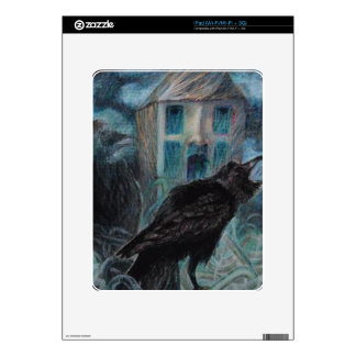Two Crows Skin For iPad
