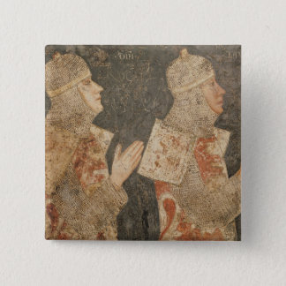 Two crusaders of the Minutolo family Button