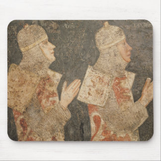 Two crusaders of the Minutolo family Mouse Pad