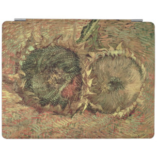 Two Cut Sunflowers, 1887 iPad Cover