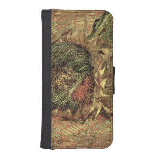 Two Cut Sunflowers, 1887 Phone Wallet Cases