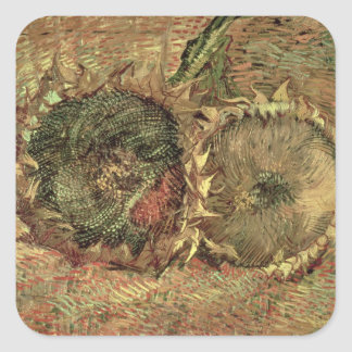 Two Cut Sunflowers, 1887 Stickers
