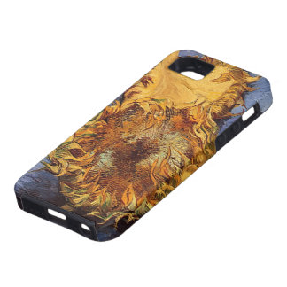 Two Cut Sunflowers by Vincent van Gogh iPhone 5 Covers