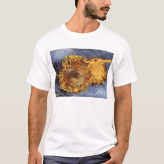 Two Cut Sunflowers by Vincent van Gogh T-Shirt