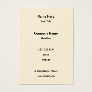 Two Cute Amber Color Cats with Red Hearts. Business Card