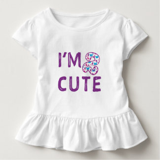 Two Cute Butterfly Birthday Toddler T-shirt