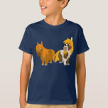 Two Cute Cartoon Ponies Kids T-shirt